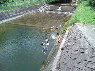 川遊び最終日