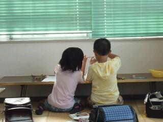 今月から学童に来ています。みーちゃんです。